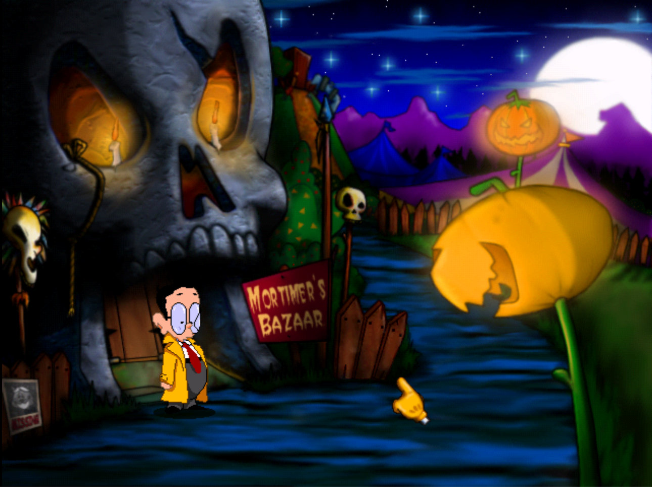 Tony Tough & The Night Of Roasted Moths screenshot 4
