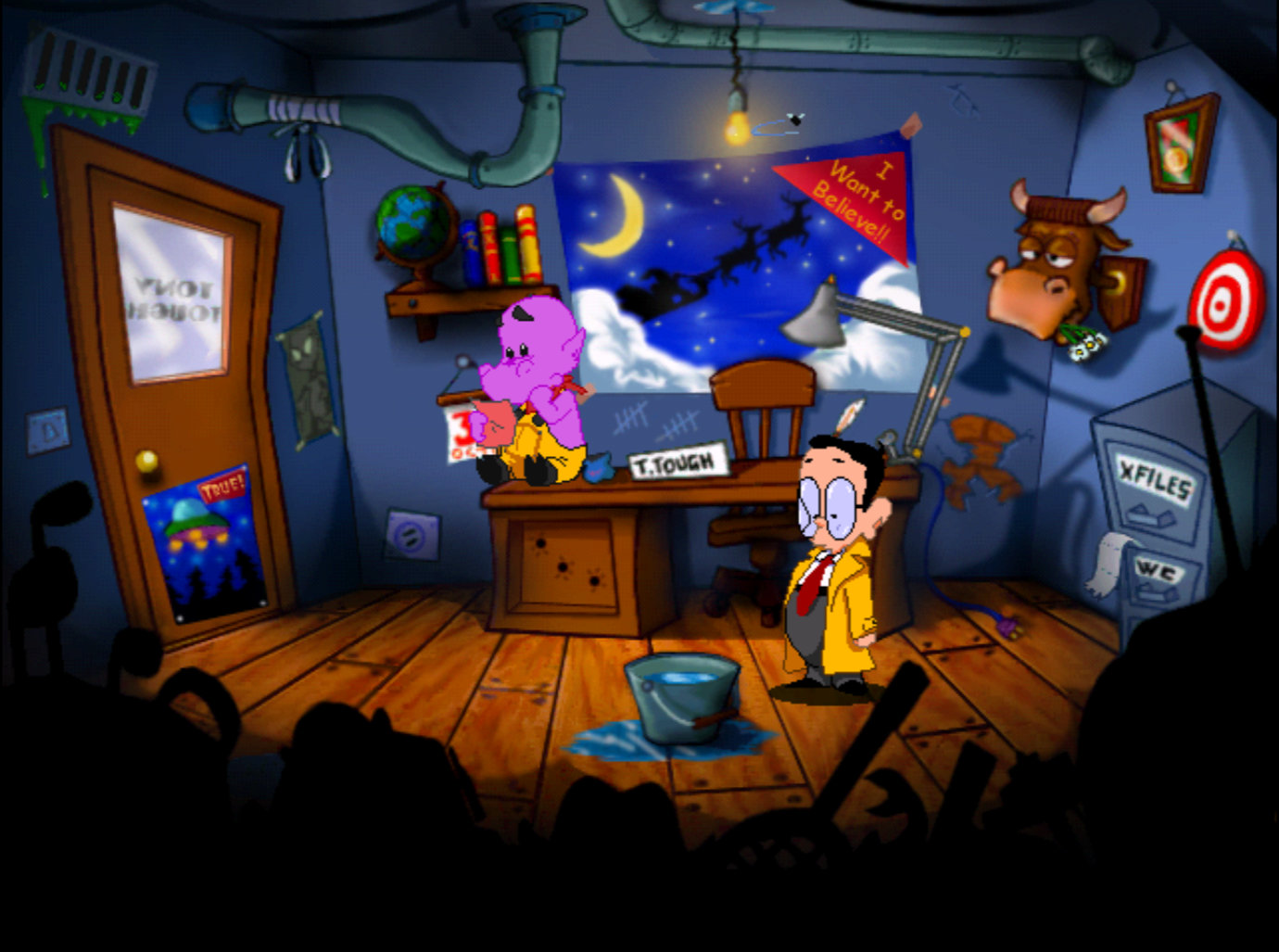 Tony Tough & The Night Of Roasted Moths screenshot 1