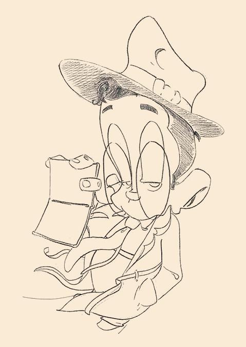 Original sketch for TT&TNORM's box